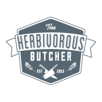 Herbivorous butcher logo