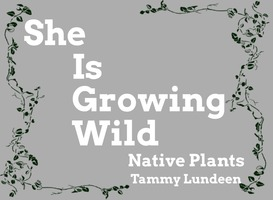 She is growing wild logo