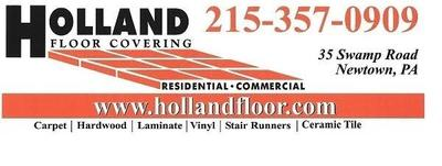 Holland floor logo