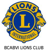 Bcabvi lions club logo