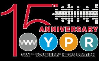 Wypr 15 anniversary logo medium