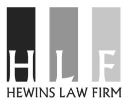Hewins law firm   logo without name