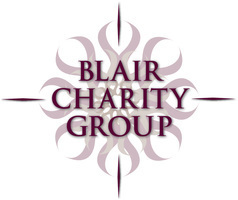 Blair charity group logo