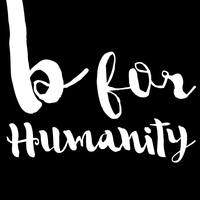 B for humanity logo