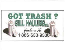Gill hauling logo