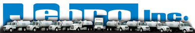 Jebro incorporated truck logo