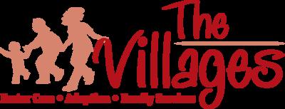 Villageslogo main red. no background color