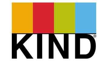 Logo for kind bars healthy snacks