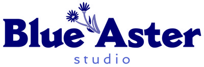 Blue aster studio logo 01