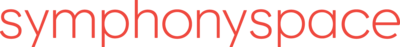 Symphonyspace nor logo word red