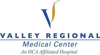 Valley regional medical center logo for 2007