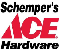 Schempers ace hardware red black