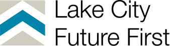 Logo chevron lake city future first