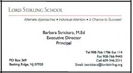 Lord stirling school