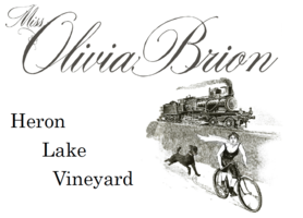 Miss olivia brion lable logo