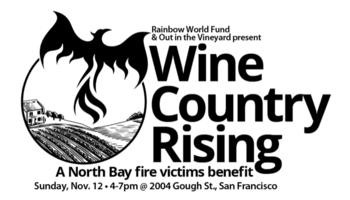 Wine country rising sonoma napa fundraiser date