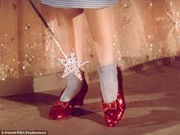 Red slippers dorothy