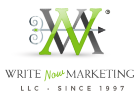 Write now marketing