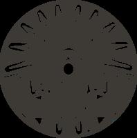 Logo grey   grey background