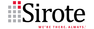 Sirote we re there always logo