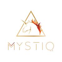 Mystiq logo white