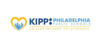 Kipp philadelphia with slogan primary logo