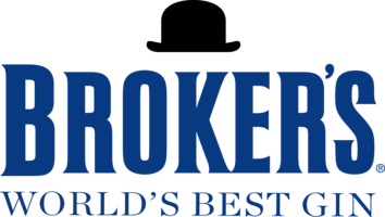 Brokers world s best gin logo