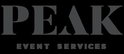 Peak event services logo