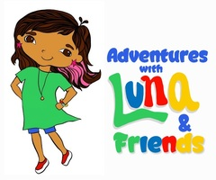 Adventures with luna and friends  silent auction  logo