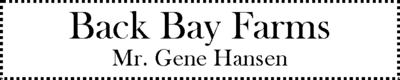 Back bay farms
