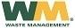 Waste management logo tiny