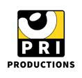 Pri productions logo black text