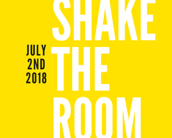 Shake the room logo special