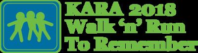 2018 walk n run logo greenlettering