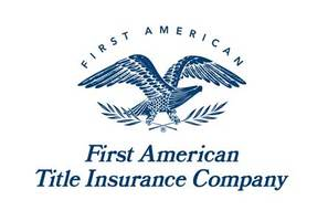 First american title logo