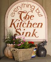 Kitchen sink picture