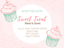 Sweet treat save the date  1