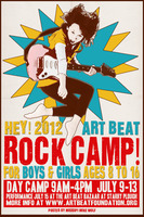 Rock camp 2012poster
