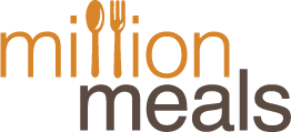 Million meals logo med