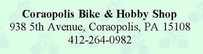 Coraopolis bike   hobby shop