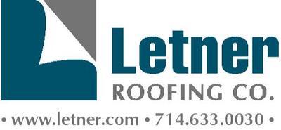 Letner roofing logo