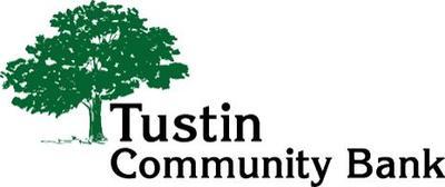 Tustin community bank logo