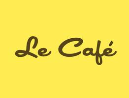 Le cafe final logo