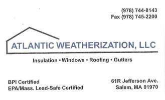 Atlantic weatherization