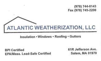 Atlantic weatherization