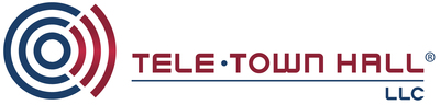 Logo tele town hall horizontal trademarked