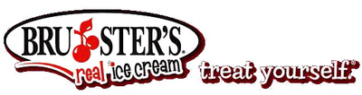 Brusters ice cream logo