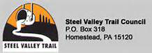 Steel valley trail logo