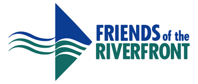 Friends of the riverfront logo