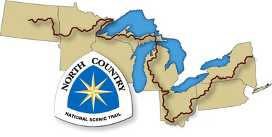 North country trail map logo